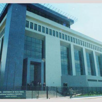 Sede da Superintendência da Policia Federal de Florianópolis-SC