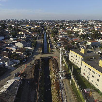 Controle de Cheias do Rio Pinheirinho